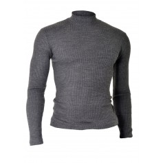 Polo Neck Sweater  Long Sleeve Tops