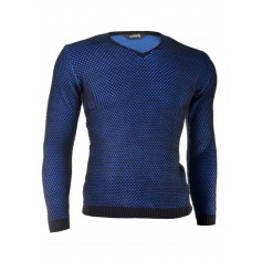 Stylish Knitted V-Neck Sweater