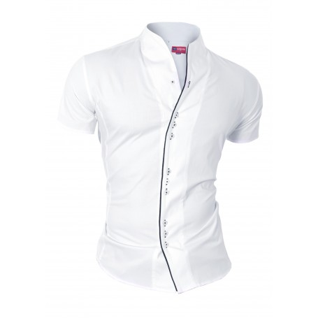 Piping Shirt with Short Sleeve  Home