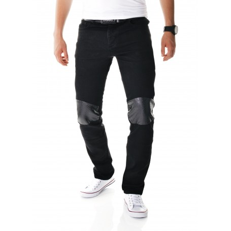 Black Skinny Jeans Snake Skin  Jeans and Trousers