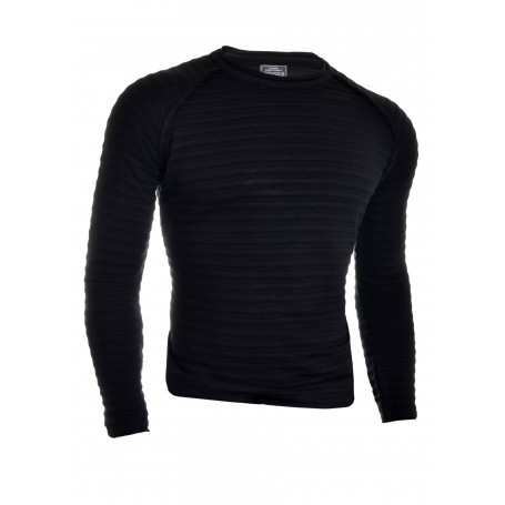Men's knitted ribbed pullover fitness jumper crew neck  Sweaters and Cardigans