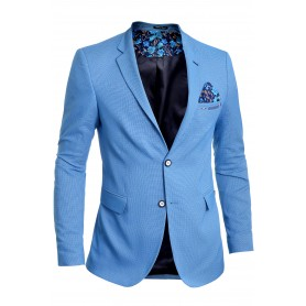 Men's Blazer Jacket Casual Formal Spotted Pattern Vivid Colours
