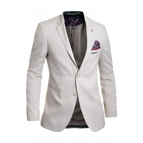 Men's Blazer Jacket Casual Formal Herringbone Pattern 9 Colours  Blazers