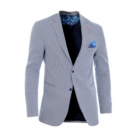 Men's Blazer Jacket Casual Formal Herringbone Check UK Size Cotton REGULAR FIT  Blazers