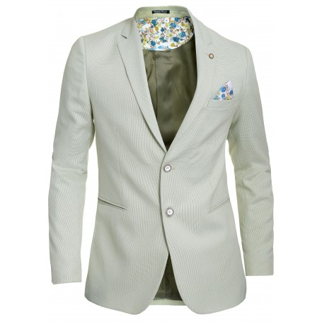 Men's Blazer Jacket Casual Formal Spotted Pattern Vivid Colours UK Size Cotton  Blazers