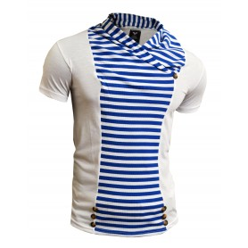 Horizontal Stripes T-Shirt  T Shirts & Polos