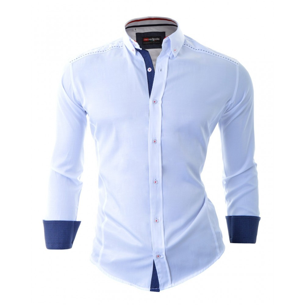 Denim Short Sleeve Shirt Mens