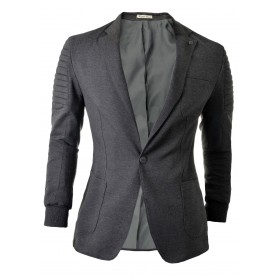 Blazer Ribbed Sleeves  Blazers