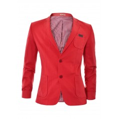Casual Blazer with Wells