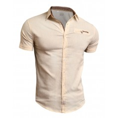 Linen Short Sleeve Shirt  Casual and Formal Shirts