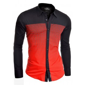 Redbridge Casual Shirt slim fit long sleeve check pattern  Casual and Formal Shirts