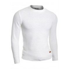 Men's Wool Knit Jumper Smart Long Sleeve Sweater Crew Neck Top