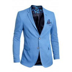 Men's Blazer Jacket Casual Formal Spotted Pattern Vivid Colours  Blazers