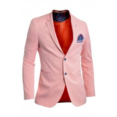 Summer Men's Blazer Jacket Casual Formal Vivid Colours UK Size Cotton Flowers